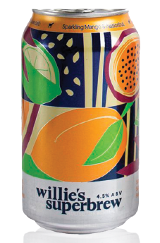 Willie's sparkling mango and passion fruit (12oz)