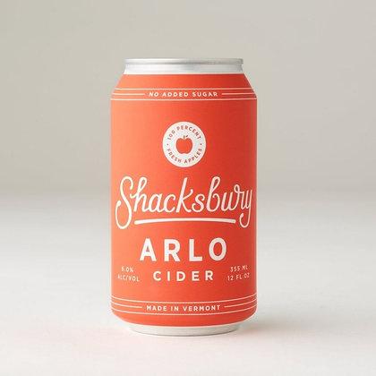 ArloShacksbury Cider (12oz)
