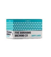 Five Boro Hoppy Lager - 6 pack cans