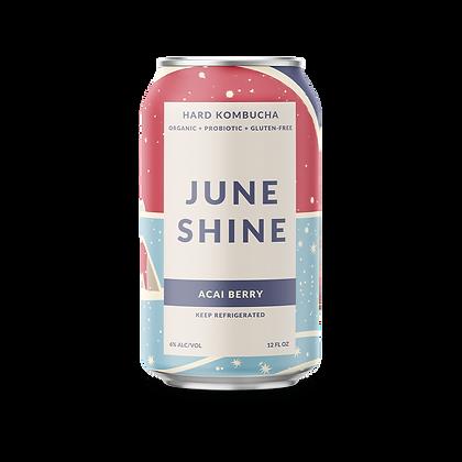 JuneShine Hard Kombucha Acai Berry (12oz)