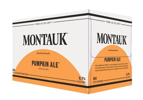 Montauk Pumpkin ALE 12oz (12pk) CN