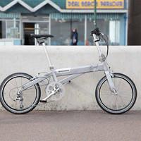 Crosshead folding bike