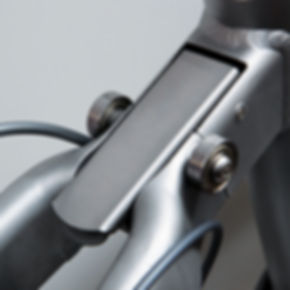 Crosshead folding bike rear hinge