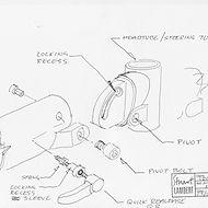 Crosshead folding bike sketches