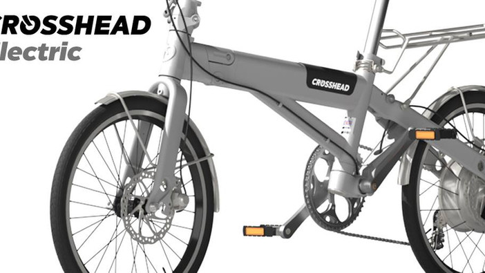 Crosshead Electric Folding bike