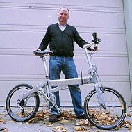 First crossshead folding bike