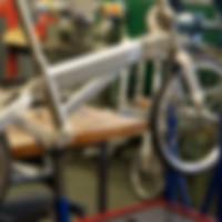 Building the crosshead bike