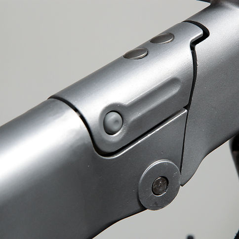 Crosshead folding bke hinge