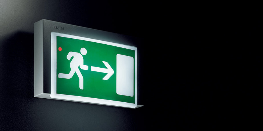 Product design exit sign