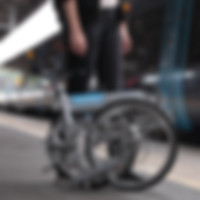 Commuting crosshead folding bike