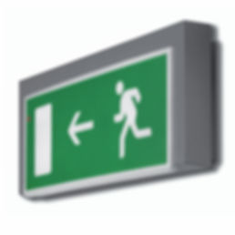 Product design exit sign The group creative
