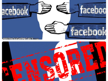 FaceBook: Gang of Five Mark Zuckerberg emerges as a leading free speech tyrant & corporate terrorist