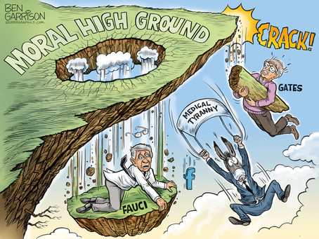 May 29, 2021 - The tenuous moral high ground of Fauci, Gates, Facebook & Public Health Tyranny