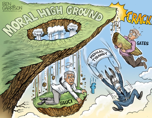 The feigned high ground of Fauci & Gates is crumbling beneath their feet