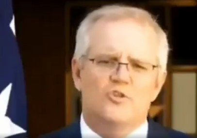 Australian PM Scott Morrison: A disgraceful traitor, thug, liar & sociopathic authoritarian
