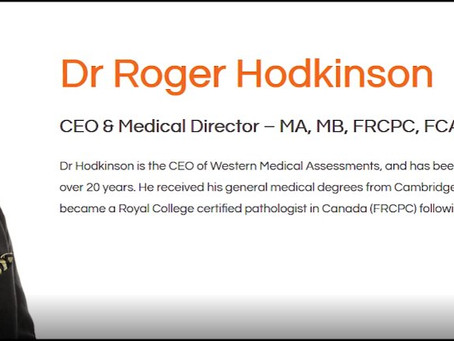 Dr. Roger Hodkinson: The link between Covid Vaccines and Myocarditis & Sterility