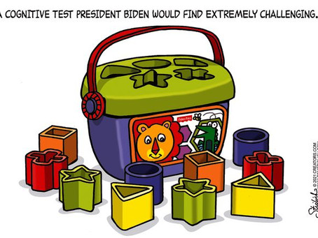 The DNC is deeply concerned Joe Biden will fail his upcoming Cognitive Test