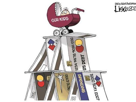 Political Cartoon Slideshow - Intergenerational Debt, Climate Change & Broken Borders