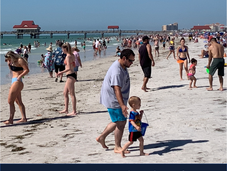 (Q): Looking for Social Harmony & Happiness?  (A): Find a Florida Beach!
