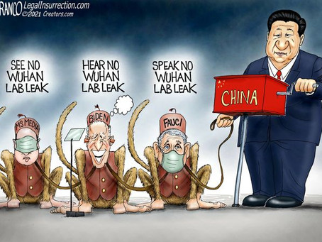 May 28, 2021 - Xi Jinping and his trio of performing monkeys & traitors