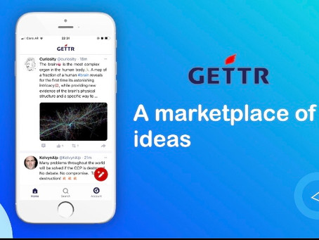 GETTR Social App - A Marketplace of Ideas and a free-speech alternative to other social apps
