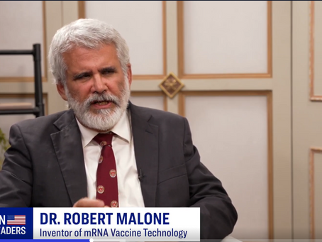 Dr. Robert Malone, inventor of mRNA vaccine technology, discusses Covid vaccine efficacy & bioethics