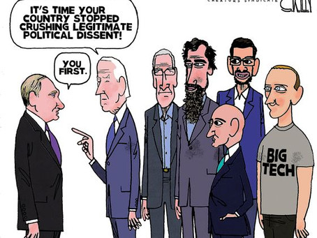 Illegitimate Joe Biden & his Big Tech Political Censors are in no position to cast aspersions