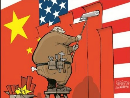 China's 'Unrestricted Hybrid War' on America: Communist-Americans are being used to do its Bidding