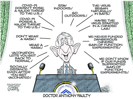 June 2, - Dr. Anthony 'Faulty'