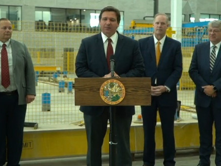 Governor DeSantis: Commitment to Freedom, the Work Force & Education make Florida the place to live