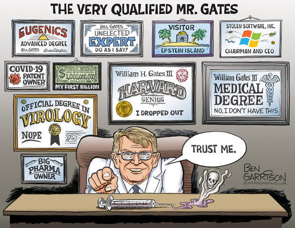 """Bill Gates Wall of Shame: """"the wall that says it all"""""""