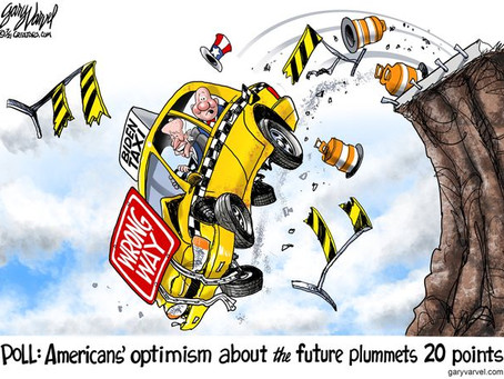 Even rigged polls cannot protect Biden's disastrous failure - America's confidence has plummeted