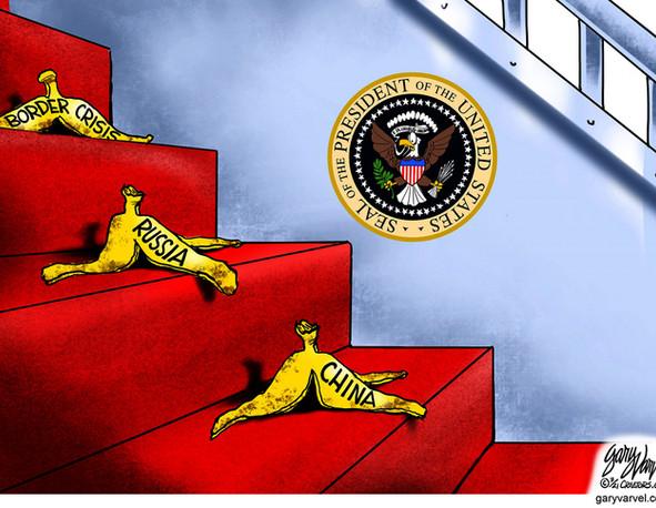 Biden's Banana Peels