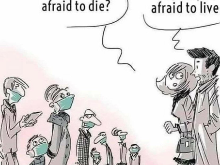Mask Zombies: A Perfect Political Cartoon