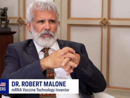 Dr. Malone: Ivermectin, Escape Mutants & the Faulty Logic of Vaccine Mandates (Epoch TV - Part 2)