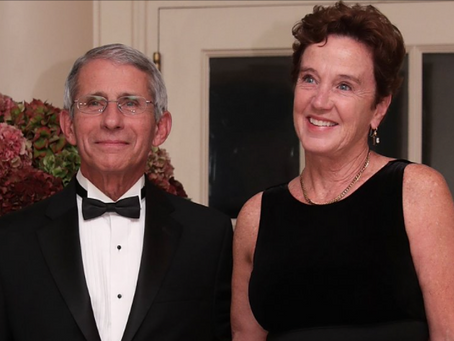 How Cozy: NIAID Director Anthony Dr. Fauci is married to NIH Chief of Bioethics Dr. Grady