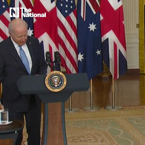 POS Biden forgets the name of Scott Morrison - AKA The tyrannical PM of Australia