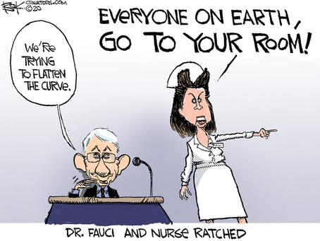 America is fed up with Fauci & his public health policy pseudo-science-fiction