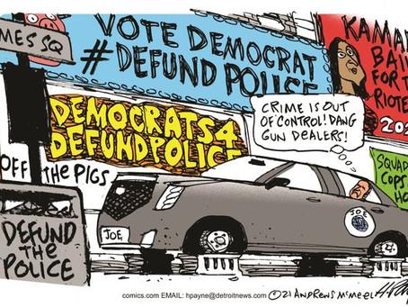 EA Cartoon Slide Show: The Dems Impact on Crime