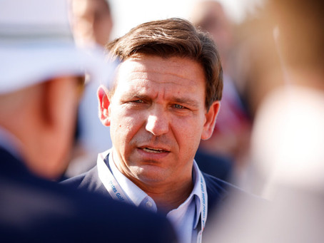 'America's Governor' Ron DeSantis leads the nation (again) with the American Flag held high