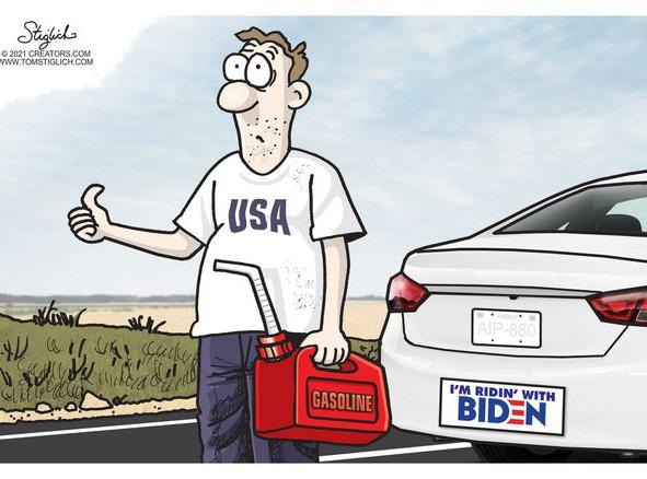 Biden's Climate Change Plan: Empty Gas Tanks