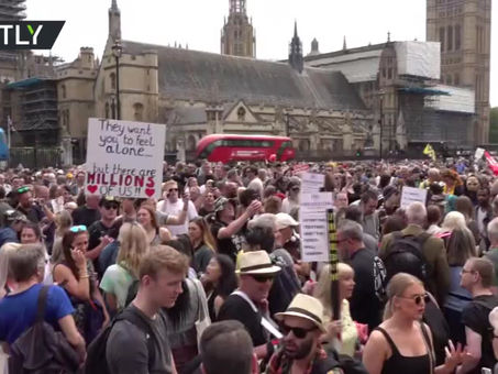 Millions protest Covid Tyranny around the world while MSM Continues to Censor all forms of Dissent
