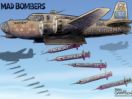 June 1, 2021 - Covid Vaccine? .. Bombs Away!