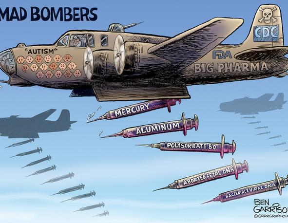 Covid Vaccine? .. Bombs Away!
