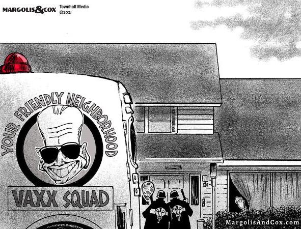 Biden's Neighorhood Vaxx Squad - coming to your door