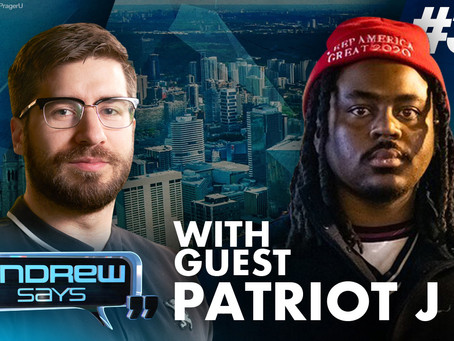 Rapper 'Patriot J' sets the record straight on BLM, CRT, Censorship & many other hot topics
