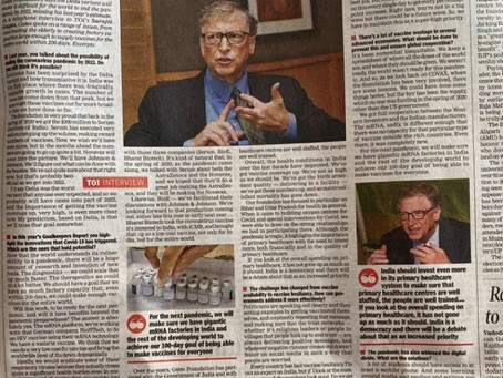 Bill Gates is Planning his next Pandemic - It is time for our politicians to lock up this sociopath