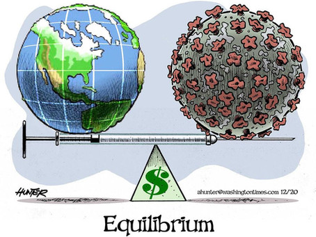 The World's Well-being hangs in the balance where Greed & Covid Tyranny rule the day