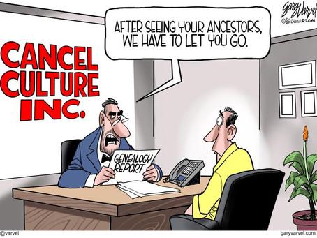 Political Cartoon Slide Show - Cancel Culture, Southern Border, Dopey Joe & Fake Media