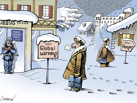 April 6, 2021 - Cartoon - Davos & the Big Lie